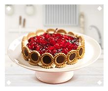 Chocolate Tortinhas Cheesecake