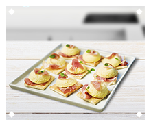 Special Magic Toast cheese canapé