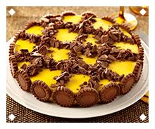 Mango and Chocolate Pie